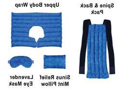 Ultimate Set- Herbal Heating Pad for Neck, Shoulder, Back, S