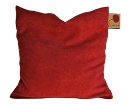 Hot Cherry® Ultra Suede  Square Cherry Pit Pillow