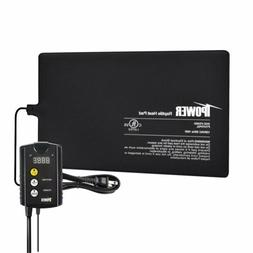 "iPower 8""x12"" Under Tank Heat pad and Digital Thermostat Com"