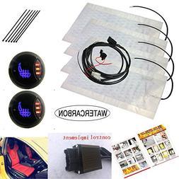 Universal LED1 side 3 point circular 3 gear switch Car Heati