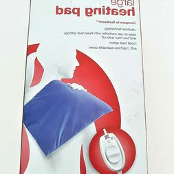Up & Up Heating Pad 3 Heat Settings Large Size Washable Cove