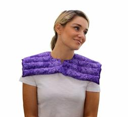 Upper Body Neck  Shoulder Wrap- Microwavable  Reusable - Hot