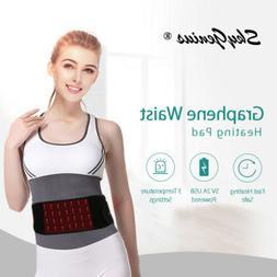 usb powered far infrared waist electric heating