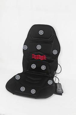 Vibration 10 Motor Seat Massage Cushion Pad Neck Back Lumbar