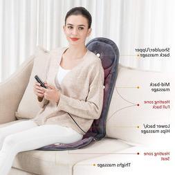 SNAILAX Vibration Massage Seat Cushion with Heat 6 Vibrating