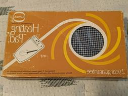 Vintage Davol Automatic Electric Heating Pad No 312 With Box
