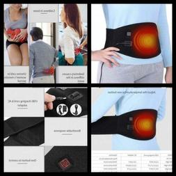 Waist Heating Belt Pad, Heat Therapy Wrap for Lumbar Spine A