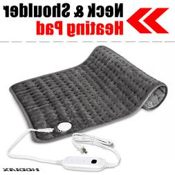 Washable Warm Electric Heating Pad Ultra Wide Microplush For