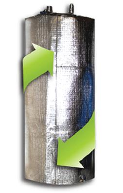 Water Heater Insulation Blanket jacket cover Fit up to 60 Ga