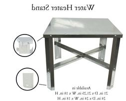 Water Heater Stand Galvanized Steel Table Safety Gas Tank