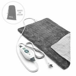 Pure Enrichment PureRelief XL King Size Heating Pad  - Open