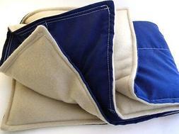 XL Microwave Heating Pad, Large Heat Pack Lap Blanket, Hot B