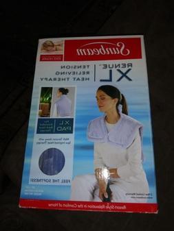 "Sunbeam XL Renue Heat Therapy Neck & Shoulder Wrap 25"" x 25"""