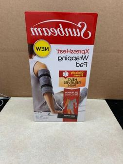 Sunbeam XpressHeat Wrapping Heat Pad with Fastening Straps S