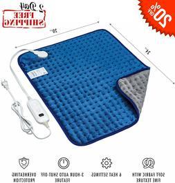 xxx large heating pad gift set auto