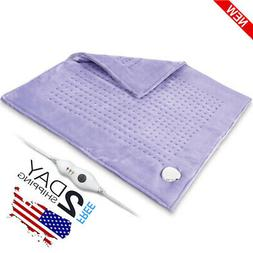 XXXLarge Heating Pad Gift Set Auto Off For Back Pain, Temper