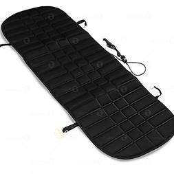 Zone Tech Heated Rear Seat Cushion - Black Premium Quality 1